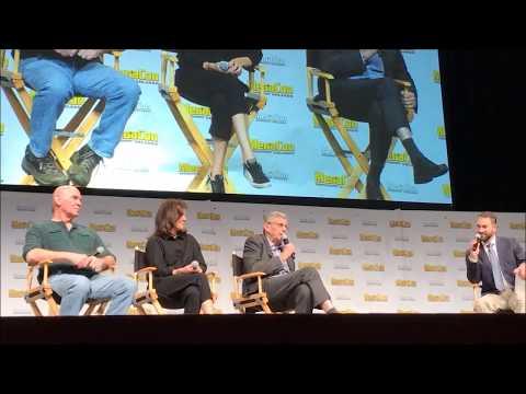 XFiles Full Q&A Panel with William B. Davis, Annabeth Gish, and Mitch Pileggi at MegaCon 2018