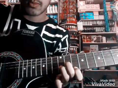 Laure sathi ho guitar lesson by salim - YouTube