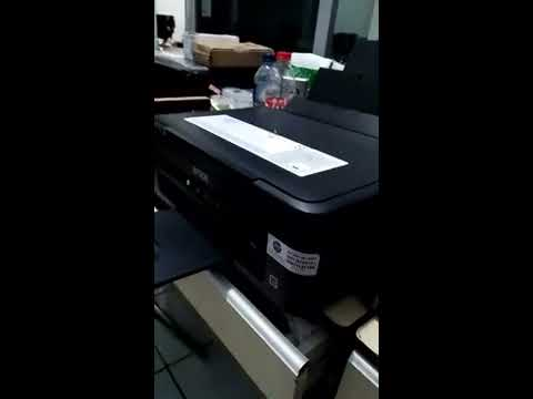 Epson L210 Hitam Bergaris Solved Youtube