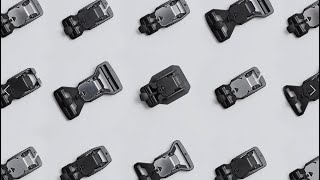 The FIDLOCK V-BUCKLE parts can be mixed individually for your perfect match
