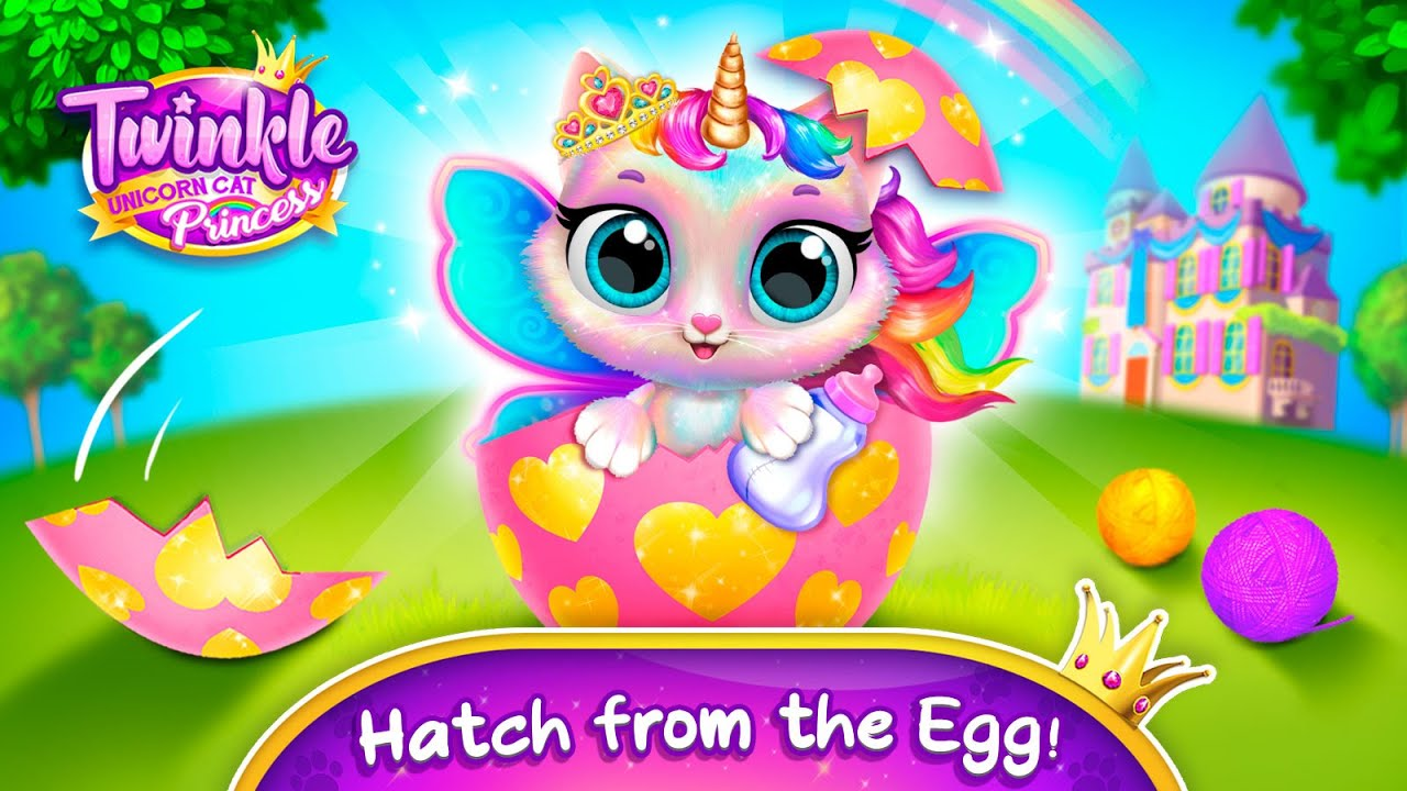 Play with Twinkle - The Cutest Unicorn Cat   Mobile Games for Toddlers