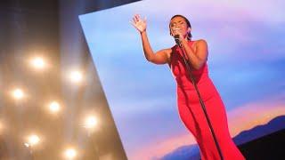 Nadja Holm sjunger Un-break my heart av Toni Braxton i Idols kvalvecka 2020 - Idol Sverige (TV4)