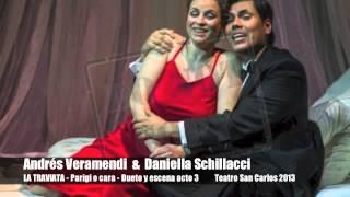 Andrés Veramendi - La Traviata - Parigi o cara - Teatro Sao Carlos Lisbona 2013