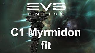 EVE Online - c1 Myrmidon fit