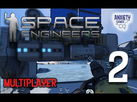 SPACE ENGINEERS MULTI-PLAYER | ORE SEARCHING DRONE | S2E2