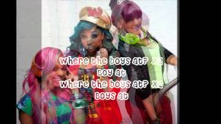 "OMG Girlz - ""Where The Boys At?"" (Lyrics)"
