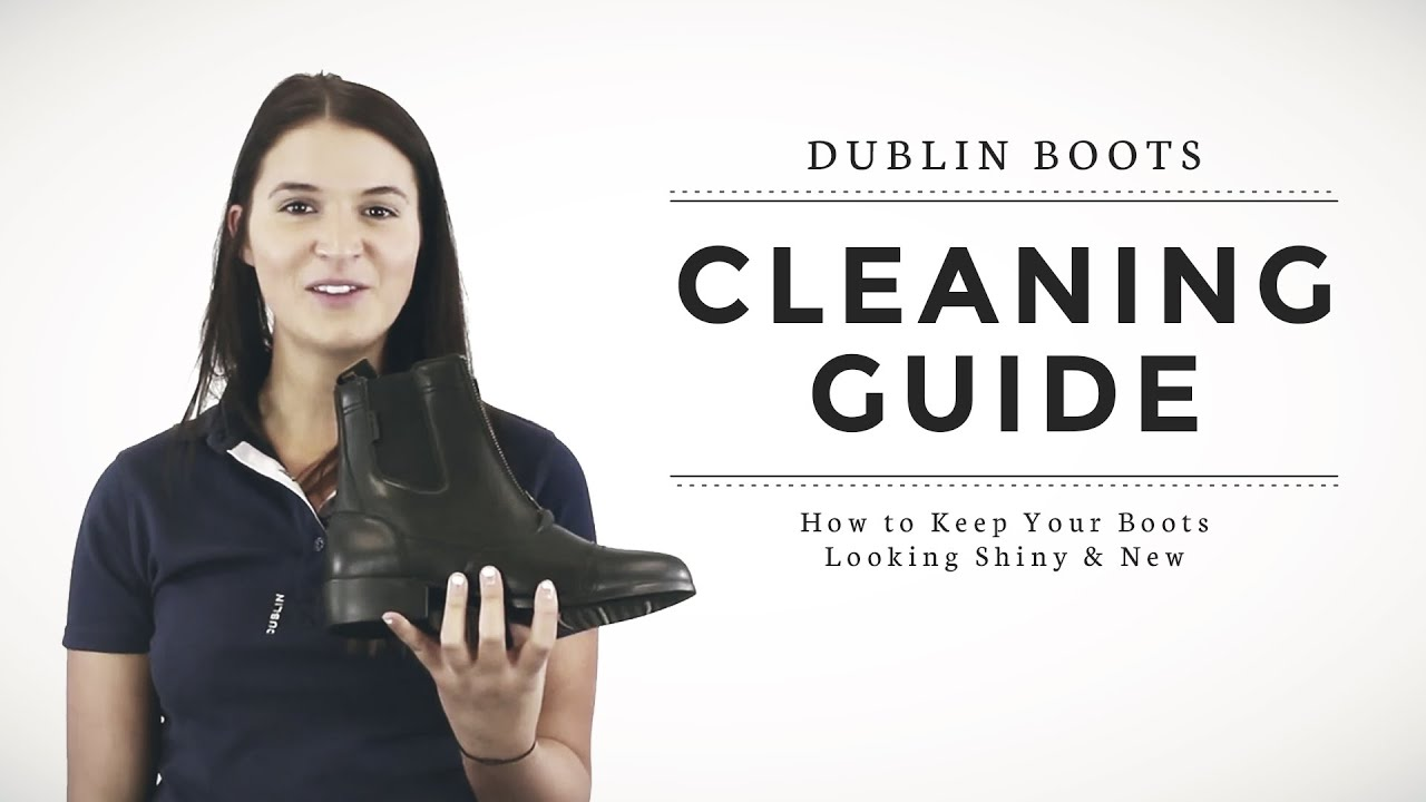 How to Keep Your Boots Looking Shiny & New