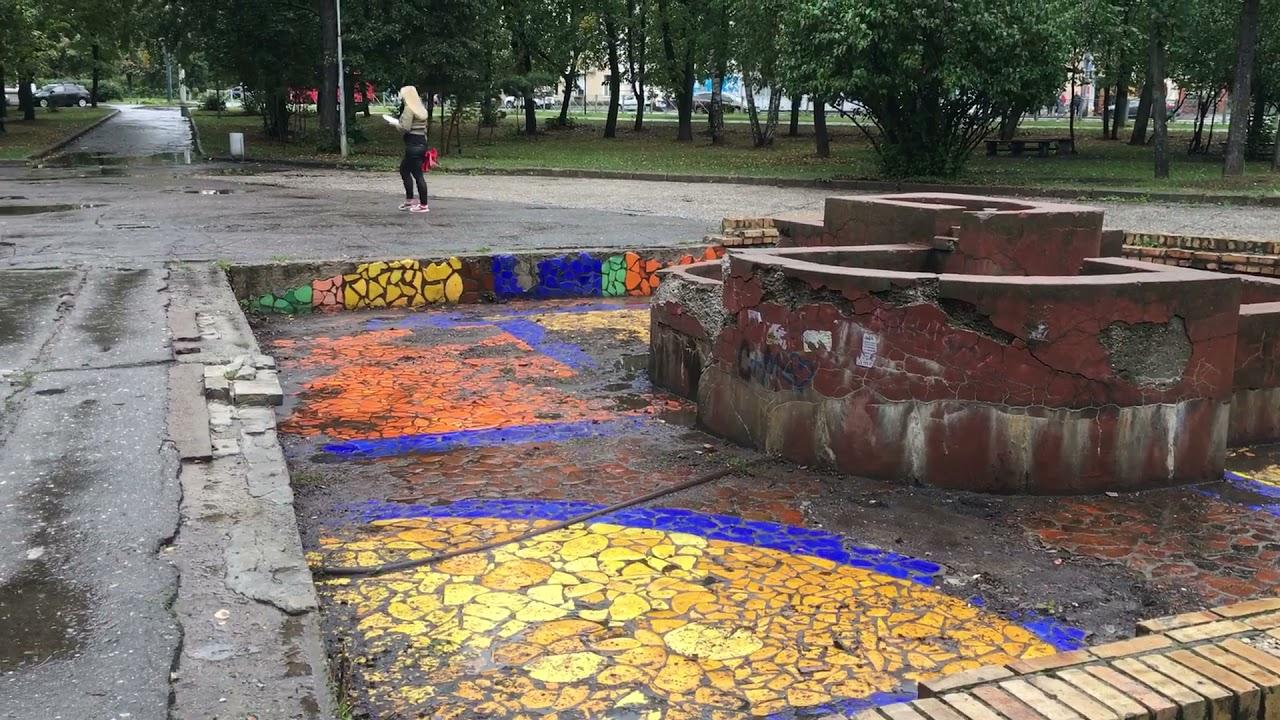 Казань парк в плачевном состоянии