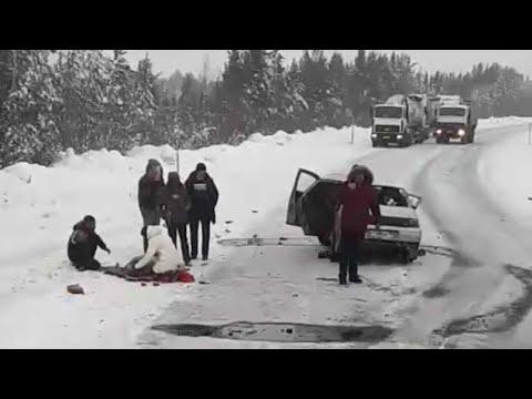 Очередная трагедия на автодороге Сургут-Лянтор.