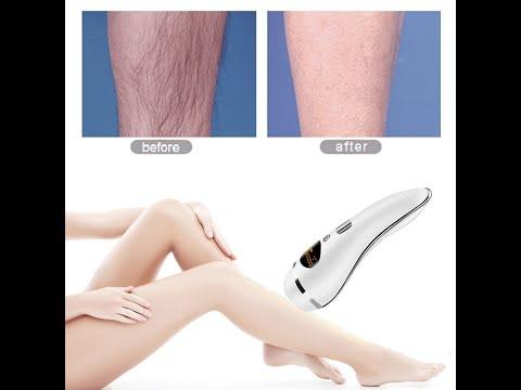 Como depilar as pernas com maquina Eletrica, depilacao a maquina Braun ou Philips.