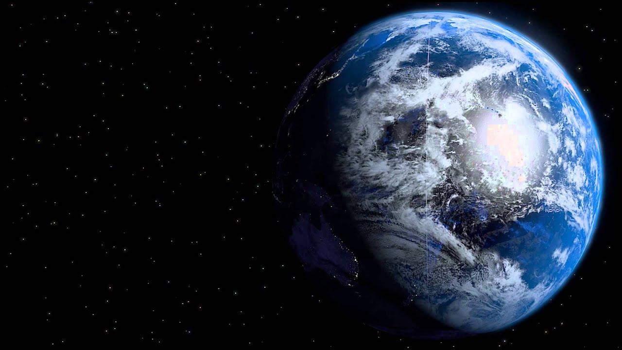 3D Earth Model Made in Blender - YouTube