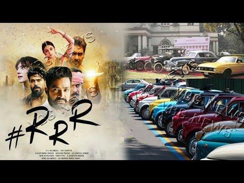 1900'స్ కార్లు బుక్.RRR మ్యానియా..! | RRR movie | ntr | ram charan | Rajamouli