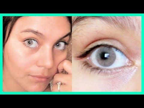 EL SECRETO PARA TENER OJOS BLANCOS Y BRILLANTES EN DÍAS | Sin maquillaje