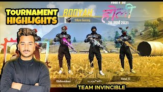 Tournament Highlights..!!! Garena Free Fire..!!🔥🔥 Please Share this Video🙏