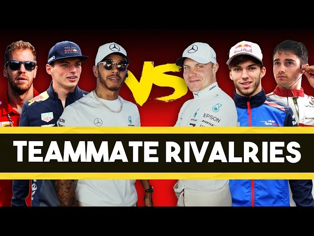 F1 Teammate Rivalries: Who Will Come Out On Top In 2019?