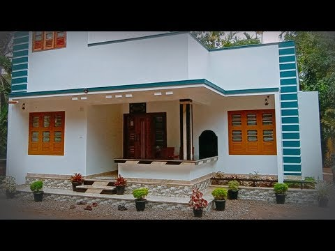 Delightful single story home design for 14 lakh | Video tour