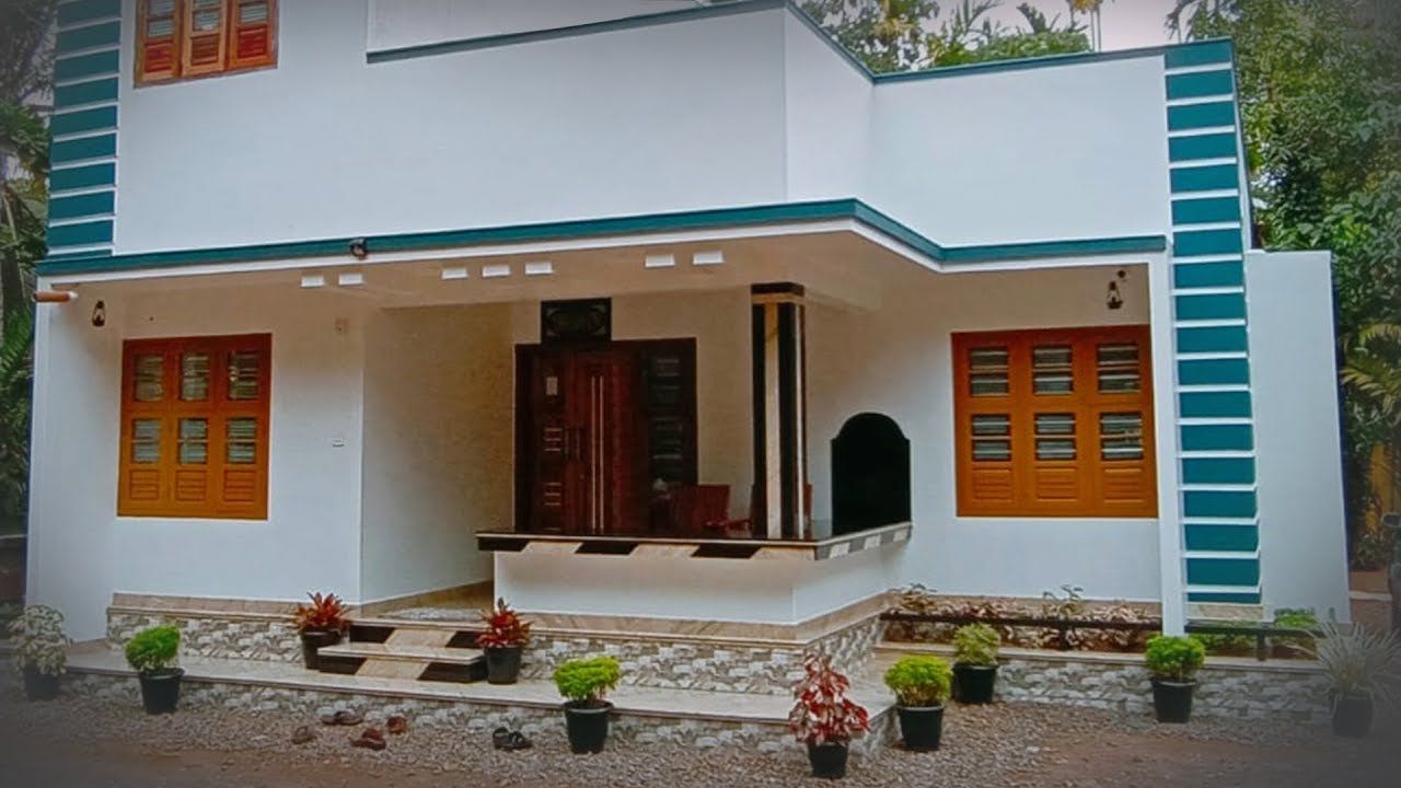 Delightful Single Story Home Built For 14 Lakh Video Tour Youtube