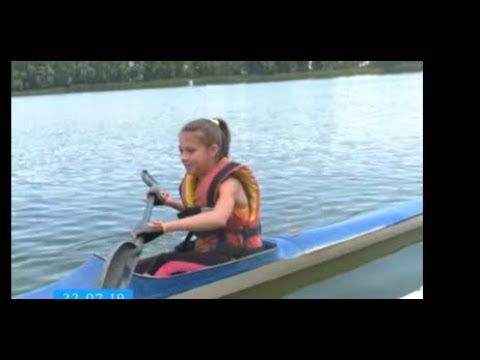 ТРК ВіККА: У Черкасах вийшли на воду найменші вихованці школи веслування