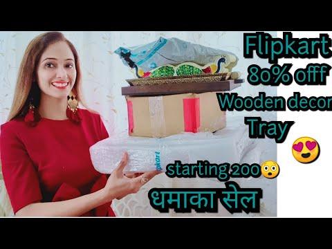 Indian Home Decor haul,Flipkart Amazon home decor haul,80% Discount sale,start 200