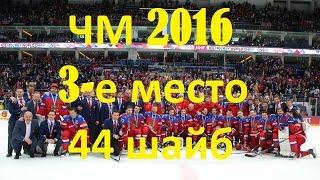 Все 44 гола сборной России по хоккею на ЧМ 2016