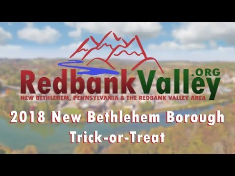 Trick-or-Treat 2018 - New Bethlehem Borough || New Bethlehem Pa