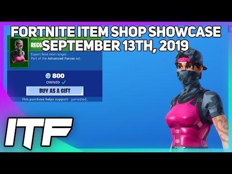 Fortnite Item Shop *NEW* ITEM SHOP WINNER + RECON RANGER IS BACK! [September 13th, 2019]