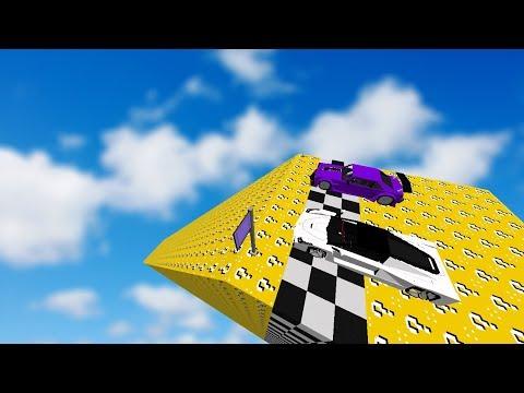 UZAY'a ÇIKAN ŞANS BLOK RAMPASI - Minecraft