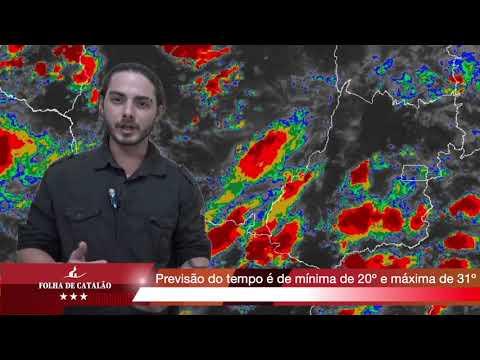 Previsão do tempo para Catalão 26/12/2019
