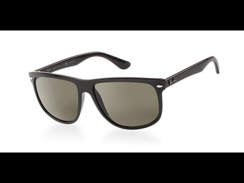 0665557a3d11 RayBan RB4147 Flat Top Boyfriend Sunglasses review - YouTube