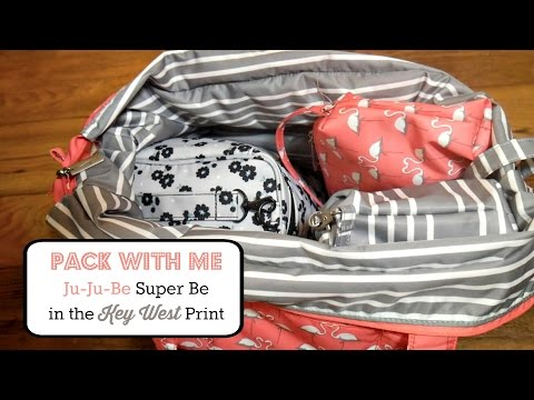 Pack With Me: Ju-Ju-Be Super Be in the Key West Print