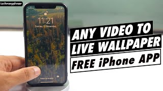 How to Set Video as Lock Screen Live Wallpaper on iPhone!