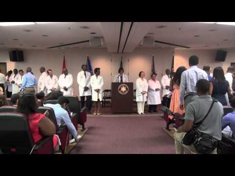 Meharry Medical College School of Medicine White Coat Ceremony 2015