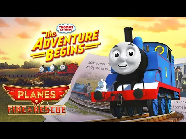 The 'The Adventure Begins' Intro with 'Planes: Fire & Rescue - Main Title'