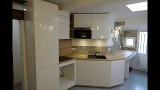 Timelapse renovation de A à Z d'appartement | Renovation appartement | ESK - Construction Maison