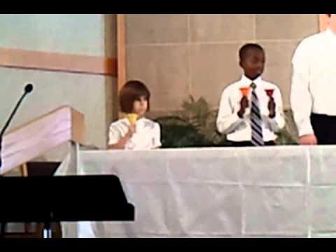 Three Angels school Handbell choir