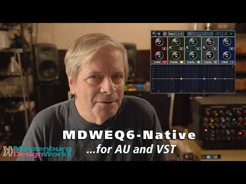 Introducing MDWEQ6-Native for AU and VST