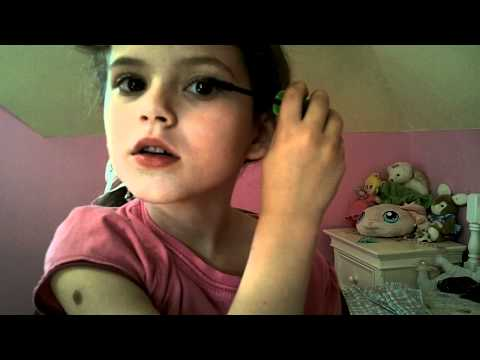 Applying Mascara with Emma MakeUp Tutorial for Kids