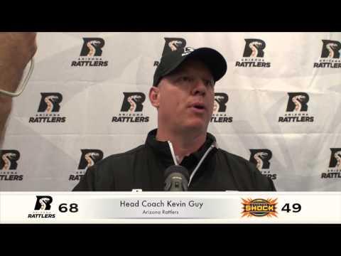 3-23-14, Coach Kevin Guy, Post Game Press Vs. Shock