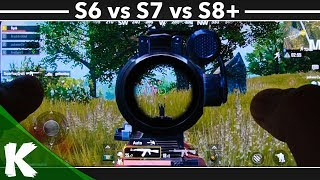 PUBG Mobile | Samsung Galaxy S6 vs S7 vs S8+ | Galaxy Showdown