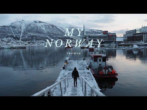 Walk your chapters: travel vlog in Norway, Tromsø| 徒书: 挪威极光之旅