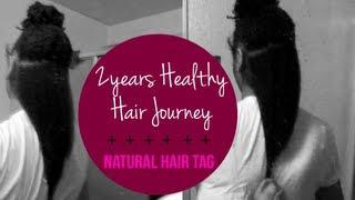 ✂NATURAL HAIR | 2years Healthy Multi-Textured Curly Hair Journey + Natural Hair Tag Thumbnail