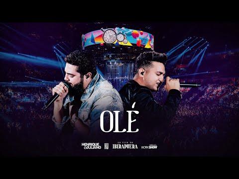 Henrique e Juliano - OLÉ - DVD Ao Vivo No Ibirapuera