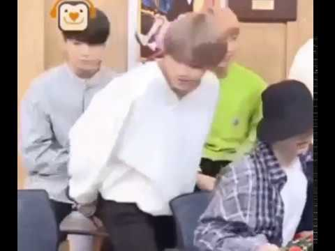 BTS KIM TAEHYUNG ACCIDENTALLY SITTING ON JUNGKOOK'S LAP AND JUNGKOOK'S  REACTION IS PRICELESS
