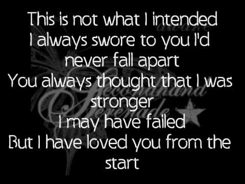 Fall for you lyrics by nina