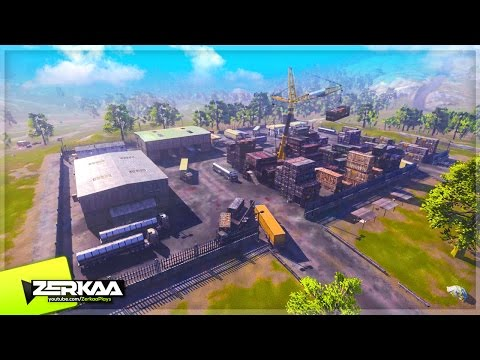 NEW AREAS ON THE MAP (H1Z1 King of the Kill)