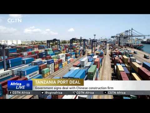 China inks multimillion-dollar deal to expand Dar es Salaam port