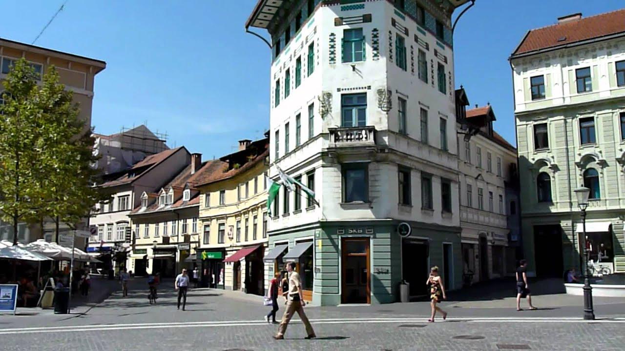 Mini footage - Heart of Ljubljana (Ljubljana, Slovenia) - YouTube