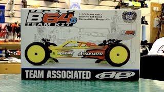 team associated b64d unboxing build