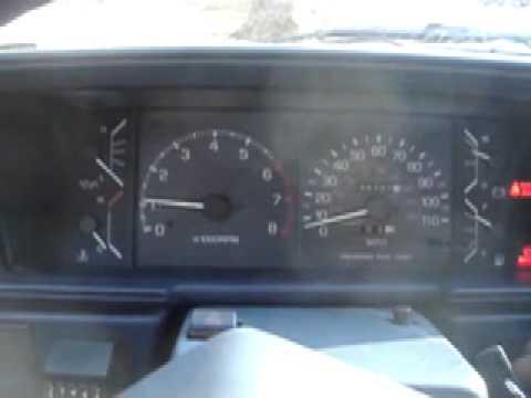 1987 Toyota 1 Ton Truck SR5 Gauge Swap YouTube