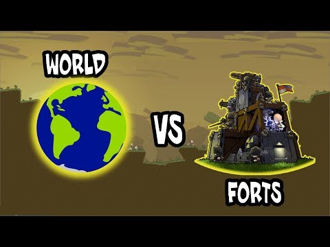 Forts Official Tournament XI (Massive COOP) - Forts RTS - Livestream